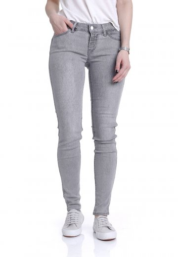 Levi's - The Line 8 Low Super Skinny Silver Lining - Jeans