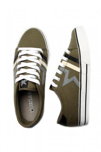 Dekline Bodega OliveLightgrey Shoes