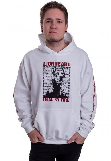 Lionheart - Barbwire Dog White - Hoodie