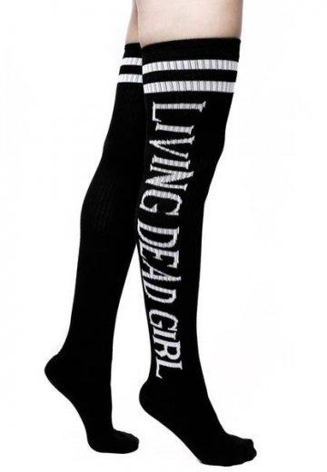 Killstar x Rob Zombie - Living Dead Long Black - Socks