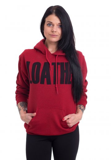 Loathe - Dance On My Skin Antique Cherry Red - Hoodie