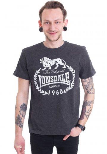 Lonsdale - Bracknell Marl Ash - T-Shirt