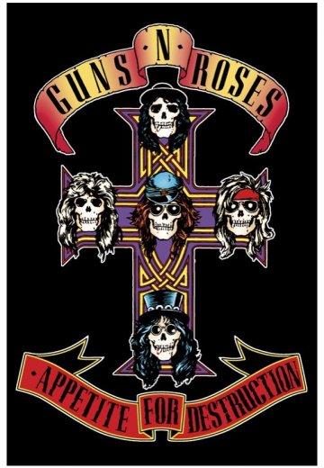 Poster Guns n Roses Logo