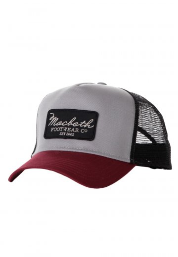 3ccd22f0d Macbeth - Dixon Trucker Black/Cement/Ox Blood Snapback - Cap