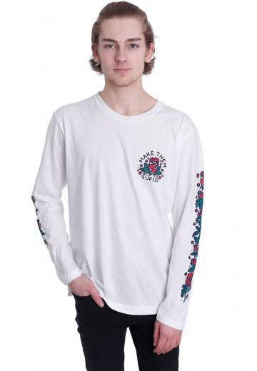 Make Them Suffer - Neverbloom White - Longsleeve