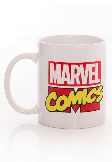 Marvel Comics - Logo White - Mug