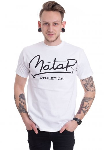 Matar Athletics - Athletics White - T-Shirt