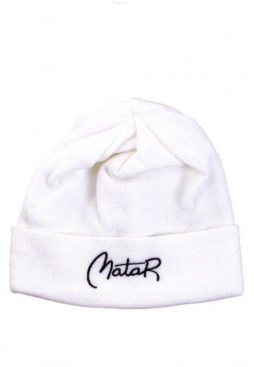 Matar Athletics - Logo White - Long Beanie