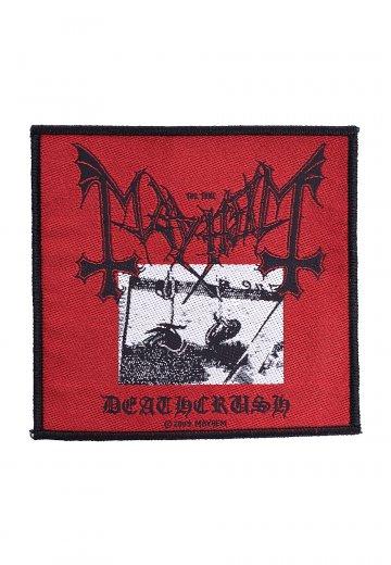 Mayhem Deathcrush Patch 10cm x 10cm