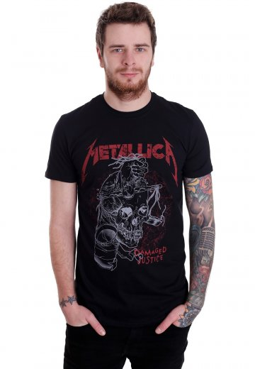 73c3aa80 Metallica - Damaged Justice - T-Shirt - Official Thrash Metal Merchandise  Shop - Impericon.com UK