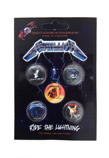 Metallica - Ride The Lightning - Button