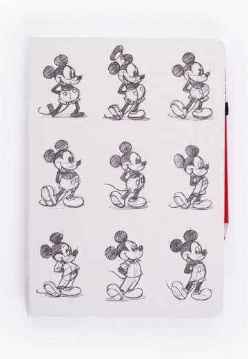 Mickey Mouse - Evolution - Notebook