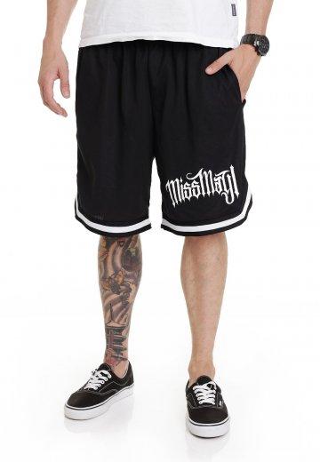 Miss May I - Horizontal Striped - Shorts