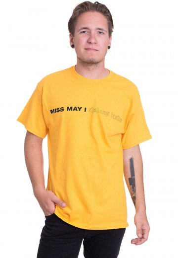 Miss May I - Iconic Gold - T-Shirt