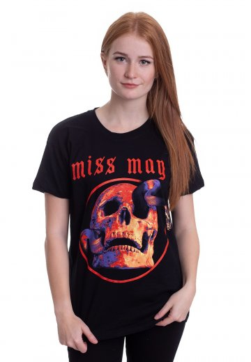 Miss May I - Snake Skull - T-Shirt