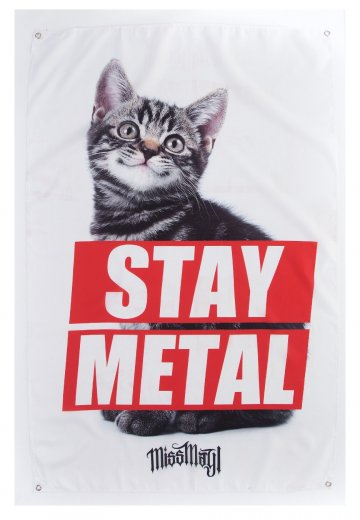 Miss May I - Stay Metal Cat - Flag