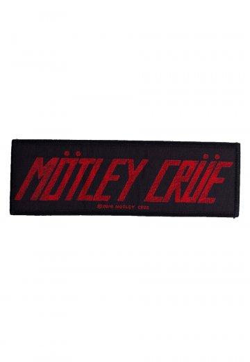 Mötley Crüe - Logo - Patch