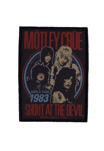 Mötley Crüe - Shout At The Devil - Patch
