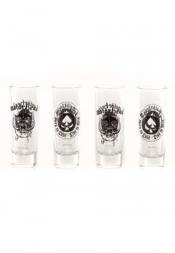 Motörhead - Motörhead Set Of 4 - Glass