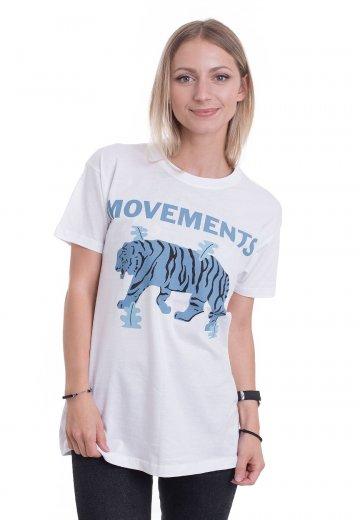 Movements - Tiger White - T-Shirt