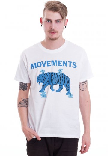 Movements - Tiger White - T-Shirt