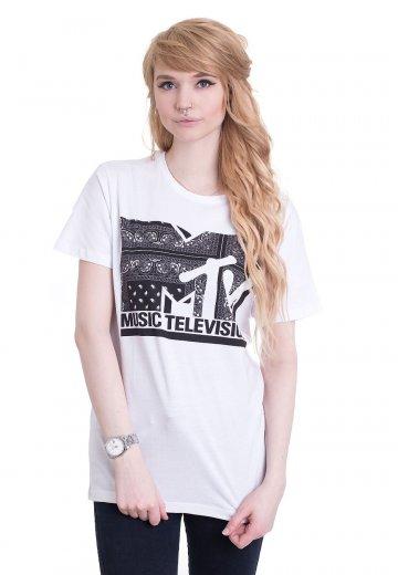 MTV - I Am Music White - T-Shirt