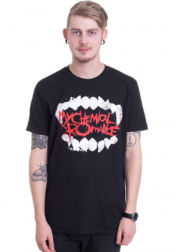 4ef8fa27 My Chemical Romance - Fangs - T-Shirt - Official Emo Merchandise Shop -  Impericon.com Worldwide