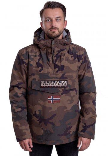 3d3cbfd2c099f Napapijri - Rainforest Camou 1 Fantasy - Jacket - Streetwear Shop -  Impericon.com UK