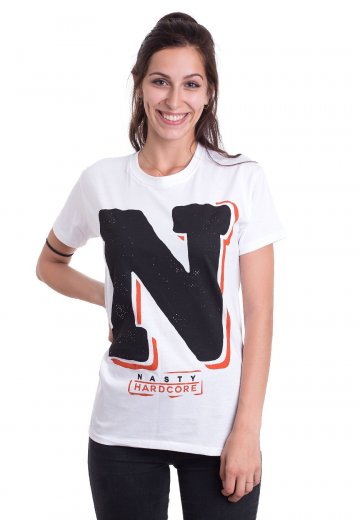 Nasty - Monument White - T-Shirt