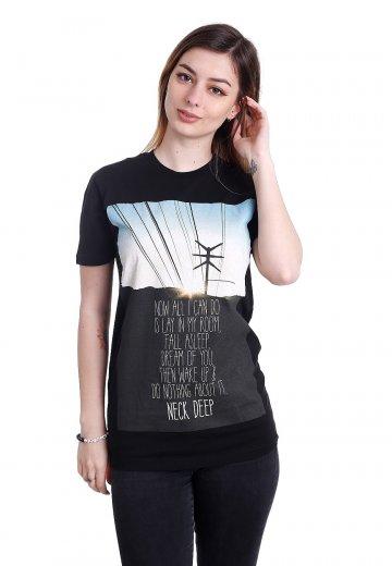 Neck Deep - A Part Of Me Lyric - T-Shirt