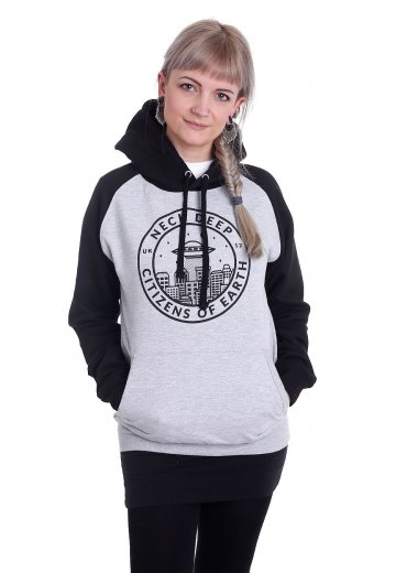 Neck Deep - Citizen Of Earth Sportsgrey/Black - Hoodie