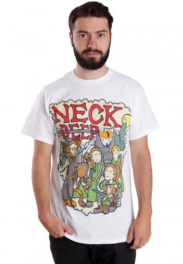 Neck Deep - LOTR White - T-Shirt