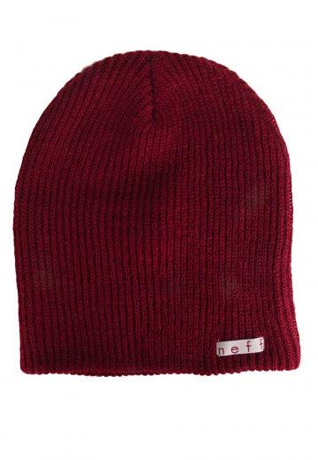 Neff - Daily Maroon - Beanie - Streetwear Shop - Impericon.com UK 359abfdae24