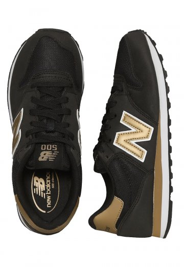 New Balance GW500 B KG BlackGold Girl Shoes