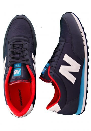 check-out 85d29 38a4f New Balance - U410 Navy/Blue/Red - Shoes