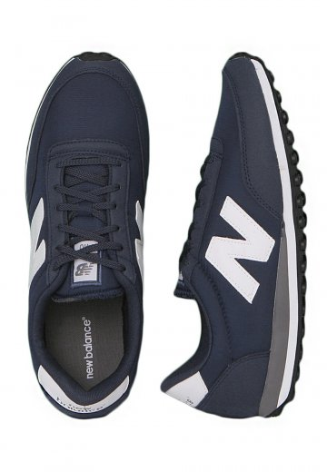 new balance 410 navy and white