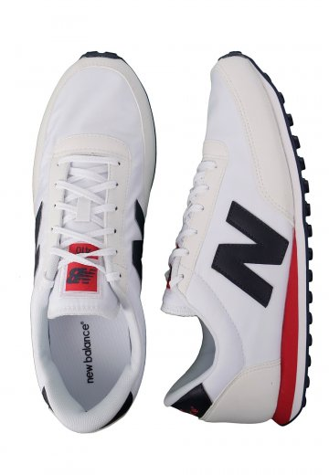 bas prix 4368d 540b1 New Balance - U410 White/Red/Navy - Shoes
