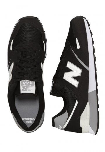 new collection best cheap new collection New Balance - U446BW Black/White - Shoes