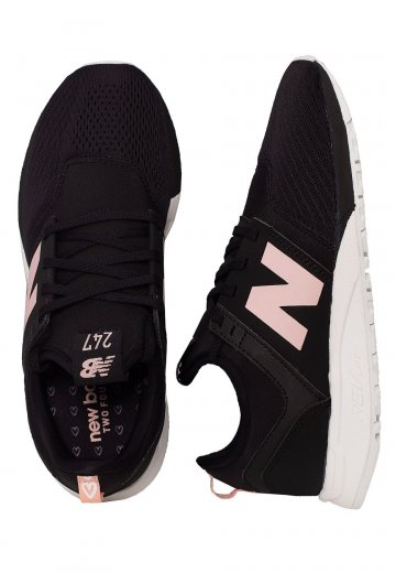 New Balance - WRL247 Black/Pink - Girl Shoes