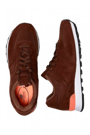 New Balance MS574 BR Brown Shoes