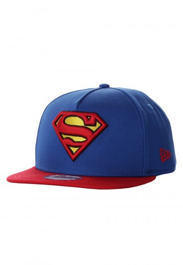 New Era - Basic Badge 9Fifty Superman Blue Red - Cap - Impericon.com  Worldwide 3019d0d002a