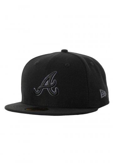 6a3602b258f New Era - Black Grey Basic Alberta Braves - Cap - Streetwear Shop -  Impericon.com AU