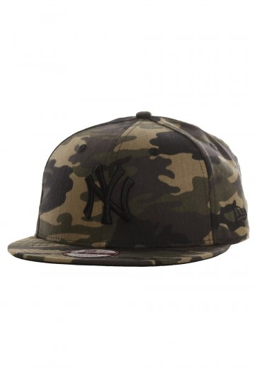 5dc8764797f New Era - Camo 9Fifty New York Yankees Woodland Camo - Cap - Streetwear  Shop - Impericon.com UK