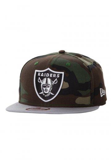 New Era - Camo Team Visor 950 Oakland Raiders Woodland Snapback - Cap - Streetwear  Shop - Impericon.com Worldwide e3254008e