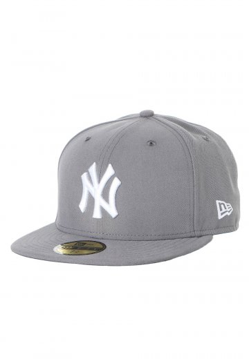 New Era - League Basic MLB New York Yankees Stormgrey White - Cap -  Streetwear Shop - Impericon.com UK 48c3627dc291