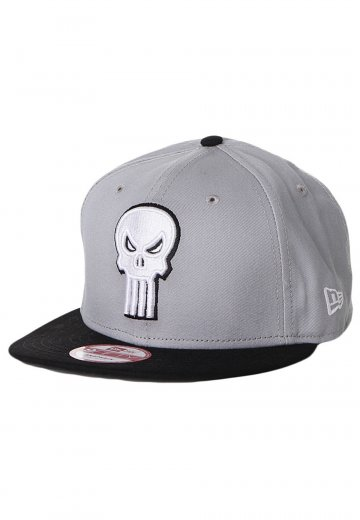 New Era - Reverse Hero Punisher Official Black Grey Snapback - Cap -  Impericon.com UK 9e5aae317597