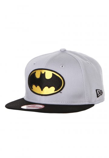 New Era - Team Hero Batman Grey Black Snapback - Cap - Impericon.com  Worldwide 6d7b00a7af4a