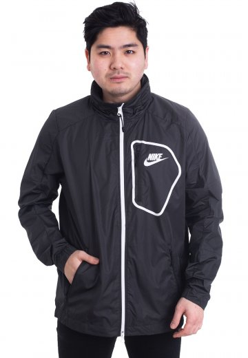 f323485816 Nike - Advance 15 Woven Black White - Jacket - Streetwear Shop - Impericon.com  UK
