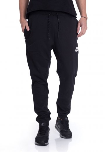 Nike - Advance 15 Black Black White - Sweat Pants - Streetwear Shop -  Impericon.com UK fb27571bc