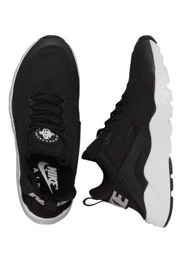 916e58797d65 Nike - Air Huarache Run Ultra Black White - Girl Shoes - Impericon.com US